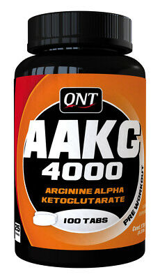 AAKG 4000 100 Tabletten liefert 4000 mg AAKG pro Portion 4 Tabletten QNT