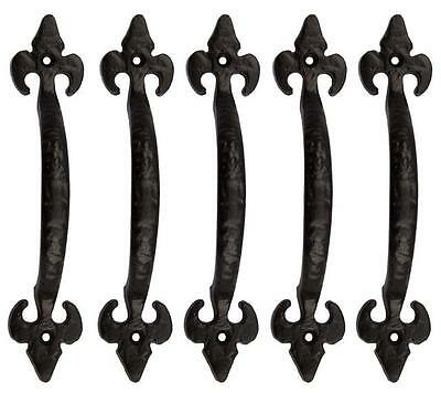 Black Antique Pull Handle 178 mm Pack of 5 for sales