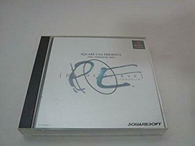 USED ​​PS1 PS PlayStation 1 Parasite Eve Japan import