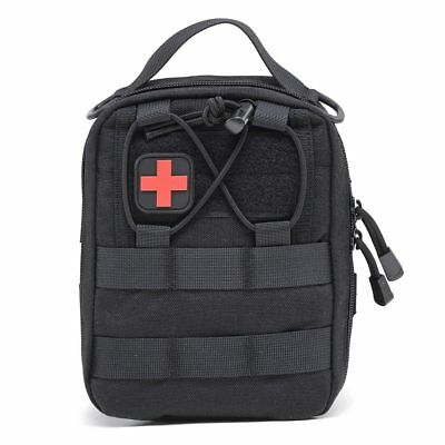 Nylon First Aid Bag Tactical Molle Medical Pouch Emergency EDC Rip-Away Survival