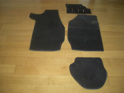 Porsche 911 Black Carpet Set R/h Drive