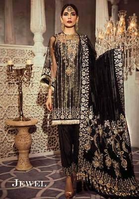 PAKISTANI INDIAN shalwar kameez ANARKALI BOLLYWOOD STICHED MARIA B ASIM JOFA