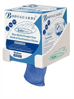 *SMALL* Bodyguards GL8933 Powder Free Disposable Blue Nitrile Gloves -Boxed x100
