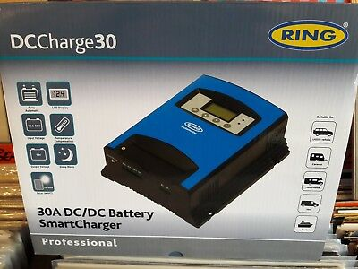 Ring Rscdc30 Dccharge30 12V 30A Dc/dc Battery Smartcharger Smart Charger