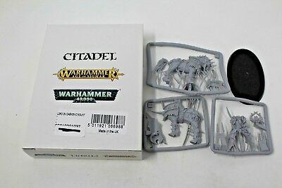 Warhammer Warriors Of Chaos Lord On Demonic Mount New