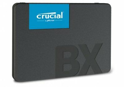 "NEW Crucial BX500 120GB SSD 2.5"" SATA3 3D NAND CT120BX500SSD1 Solid State Drive"