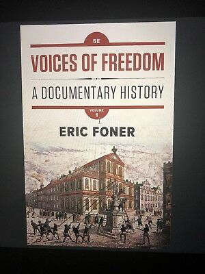 PDF Ebook Voices of Freedom : A Documentary History by Eric Foner 5E Volume 1