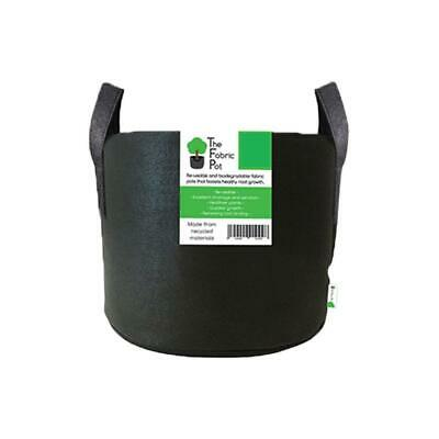 Root Fabric Pot 40L Black Smart Grow Aeration Container Bag Pouch Hydroponics