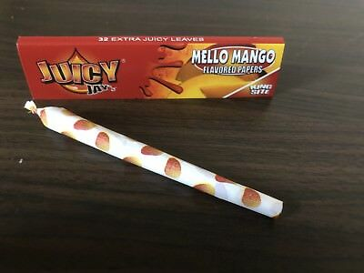 """Juicy Jay's Blättchen King Size Long Papers mit Mello Mango """"Mango"""" Aroma"""