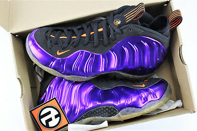 4834f4c49ca Nike Air Foamposite One Pheonix Suns Purple Total Orange Size 10 314996 501