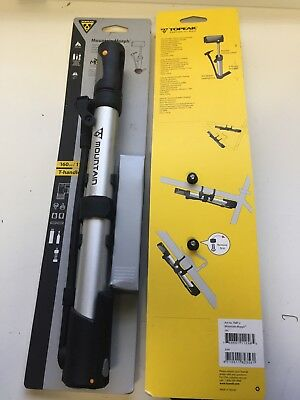 TOPEAK TMP-2 MOUNTAIN MORPH BIKE FRAME PUMP 160psi Presta/& Schrader Easier pump