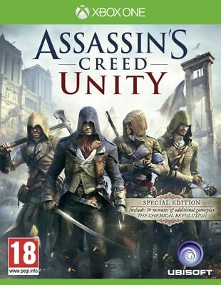 Assassins Creed Unity for Xbox One XB1 - UK Grade A+ - FAST DISPATCH