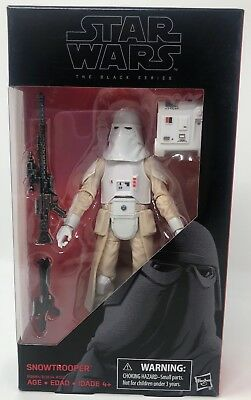 Hasbro Star Wars The Black Series #35 Snowtrooper 6-Inch Action Figure w/ Acc.
