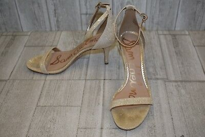 c343fd56ccd1 Sam Edelman Patti Ankle Strap Sandal - Women s Size 10.5M Gold DAMAGED