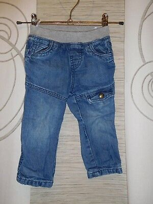 f9db854d74bf62 C&A Thermojeans Gr. 86 Hose gefüttert Thermohose Jeans Hose Schlupfjeans