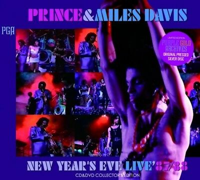 PRINCE & Miles Davis New Year's Eve Live 87 88 cd dvd