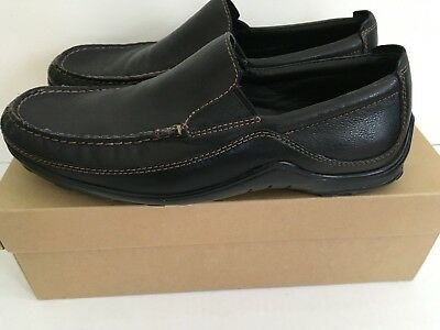 7aa3d430335 COLE HAAN MEN S Black Leather Tucker Venetian Loafers 3640 Sz 8.5 M ...