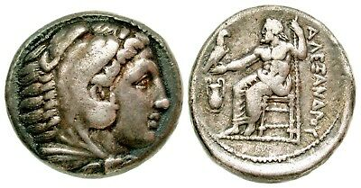 Ancient Greek Alexander III the Great AR tetradrachm