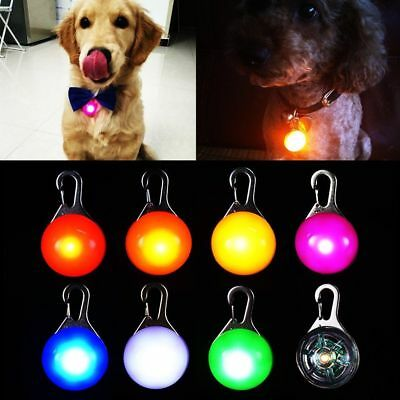Pet LED Light Pendant Dog Cats Puppy Night Safety Light Pendant Walk Collar