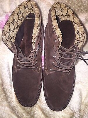 4b5bbb9b5 GUCCI SUEDE SLIP On Shoes Tassel Loafer Mens Size US 11.5 - $290.00 ...