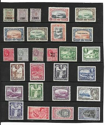 British Guiana 1890-1951 Mint Selection Mainly Mh.  (135)