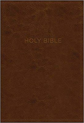KJV, Know The Word Study Bible, Leathersoft, Brown, Red Letter Edition: Gain ...
