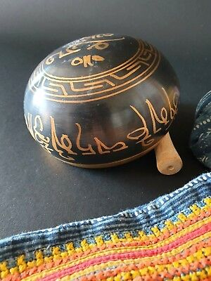 Old Asian Bronze Singing Bowl …beautiful tone and collection piece