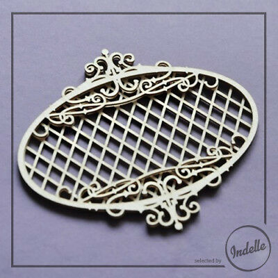 Double-Layer Frame Cut-out Chipboard Shape Cardmaking Scrapbooking Craft