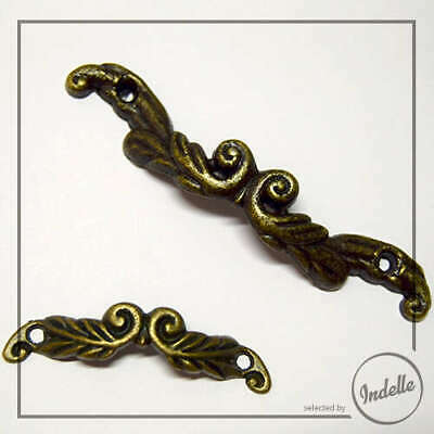 Pull Bow Handle Antique Brass Box Hardware Accessories Craft