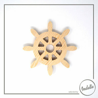 Steering Wheel Wooden Craft Shape