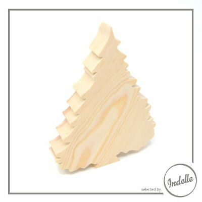 Christmas Tree Wooden Craft Shape