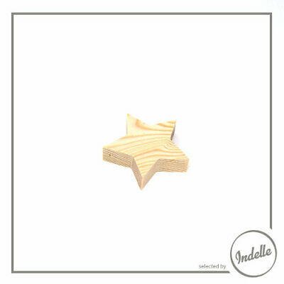 Star Wooden Craft Shape