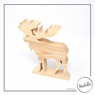 Reindeer Wooden Craft Shape