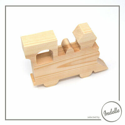Locomotive Wooden Craft Shape