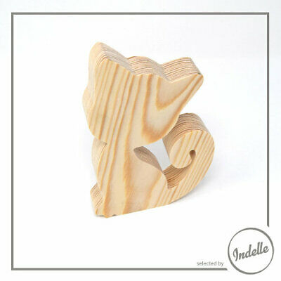 Cat Wooden Craft Shape