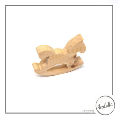 Rocking Horse Wooden Craft Shape
