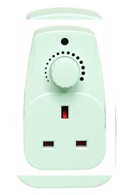 Plug in Dimmer 13A Adjustable Light Control Switch