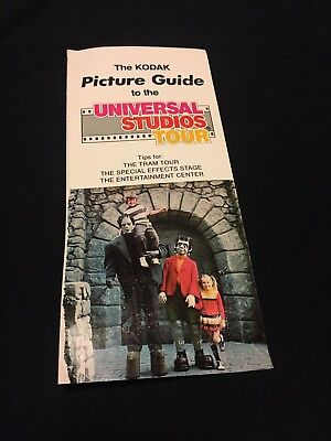 Universal Studios Hollywood Souvenir Studio Picture Guide (1981)