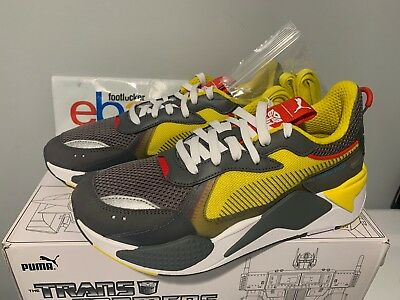 8d02c7be897178 Puma RS-X Transformers Pack Bumblebee Quiet Shade Yellow Grey Kids   Men s  4Y-