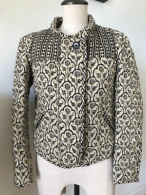 0f00e651792 Isabel Marant Etoile Quilted Short Print Jacket Floral size 38/US6/Small