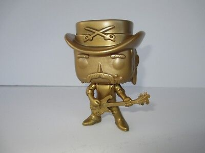 Funko Pop - Rocks - Motorhead Lemmy Kilmister Gold #49 OOB LOOSE