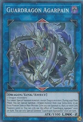 YuGiOh SAST-EN053 - Guardragon Agarpain - Super Rare - 1st Edition