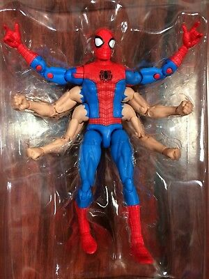 Marvel Legends Spider-Man Kingpin BAF Wave Six Armed Spider-Man IN STOCK
