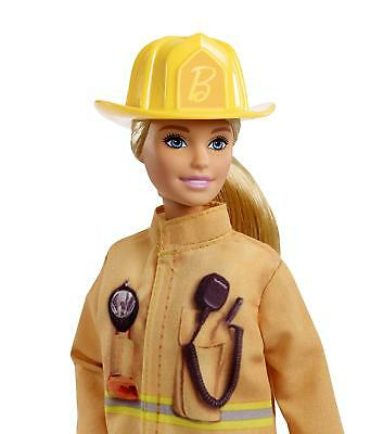 Barbie Careers You Can Be Anything 60th Anniversary Special Ed.FIREFIGHTER Doll