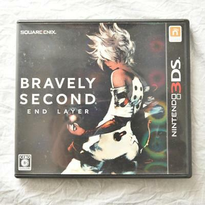 Bravely Second End Layer Nintendo 3DS Game Import JP used