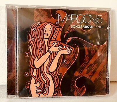 Maroon 5 Cd *brand~ New*~Sealed*~Songs About Jane' ~ 2003 Mint!