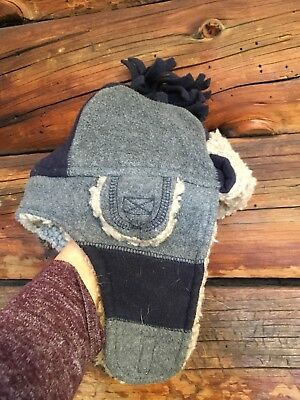 53f23fd9b50f3 ... Disney Mickey Mouse Black Sherpa Trapper Hat.