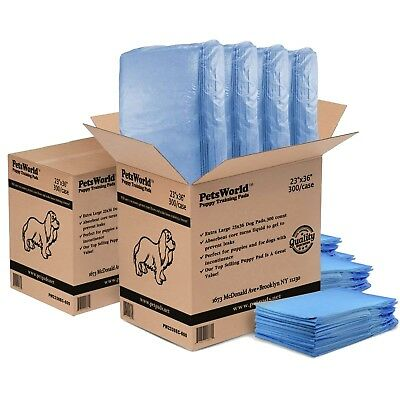 Dog Puppy Training Pads 23x36 - 600Ct