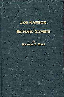 Joe Karson-Beyond Zombie-Michael E. Rose Limited 1st Ed-Biography-Illusions-OOP