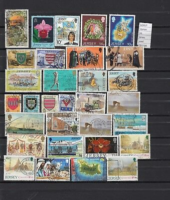 Stamps Lot British Colonies & Territories Jersey Used (L23317)